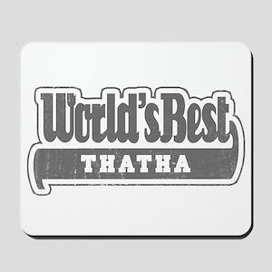 WB Grandpa [Tamil] Mousepad